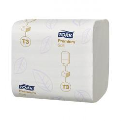 Tork T3 Folded Toilet Tissue 2-Ply 252 Sheets (Pack of 30) 114273