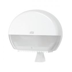 Tork T2 Mini Jumbo Toilet Roll Dispenser White 555000