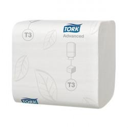 Tork T3 Folded Toilet Tissue 2-Ply 242 Sheets (Pack of 36) 114271