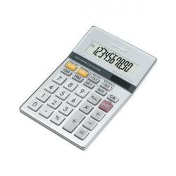 Sharp Silver 10-Digit Semi-Desktop Calculator EL-331ER