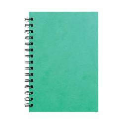 Silvine Luxpad Hardback Wirebound Notebook A5 (Pack of 6) SPA5