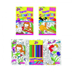 Tallon Children's Travel Colouring Set (Pack of 6) 6839