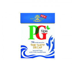 PG Tips Pyramid Tea Bag Decaffeinated (Pack of 70) 67432538