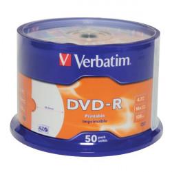 Verbatim DVD-R Spindle 4x 4.7GB (Pack of 50) 43533