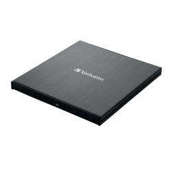 Verbatim Black Mobile Blu-ray Rewriter USB 3.0 43890
