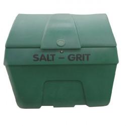 Winter Salt/Grit Bin Lockable No Hopper 400 Litre Green 317070