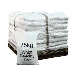 Winter De-Icing Salt White 25kg (Pack of 40) 383208
