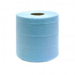 Blue Centrefeed Roll 2-Ply 150m (Pack of 6) KMAT6238