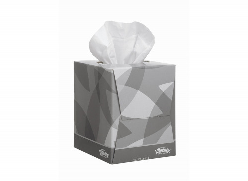Kleenex Facial Tissues Cube 90 Sheets (Pack of 12) 8834