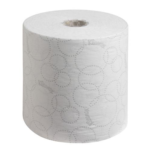 Kleenex Ultra Hand Towel Roll White 150m (Pack of 6) 6780
