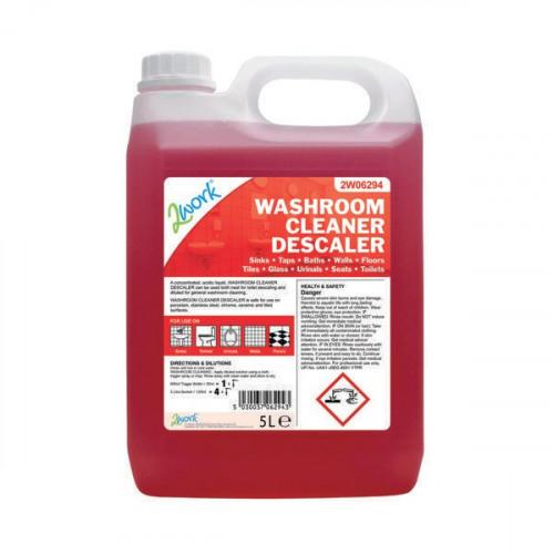 2Work Washroom Cleaner and Descaler 5 Litre 2W06294