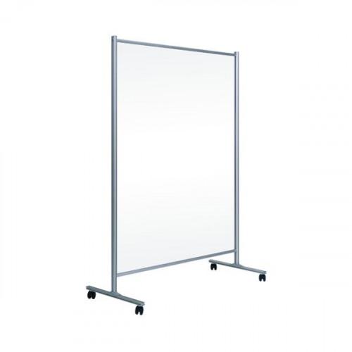 Bi-Office Mobile Stand T/Parent 1200x1800 Panel Alum Frame DSP122846