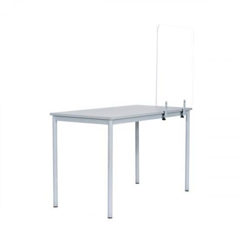 Bi-Office Frameless Desk Glass Protection 4mm 1400x900mm GL3501393