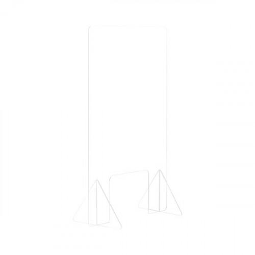 Bi-Office Frameless Counter Glass Protection 4mm 1200x900mm GL0801392
