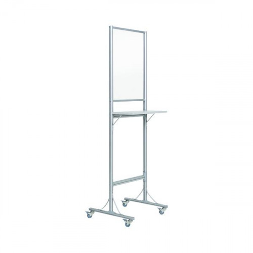 Bi-Office Standing Desk Wheels 4mm 550x720mm SUP3503