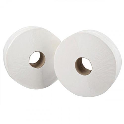 Maxima Mini Jumbo Toilet Roll 200 Metre White (Pack of 12)