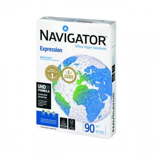 Navigator A3 Expression Paper 90gsm (Pack of 500) NAVA390