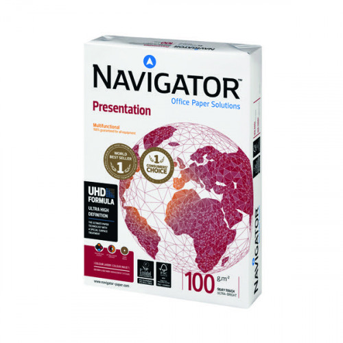 Navigator A3 Presentation Paper 100gsm (Pack of 500) NAVA3100
