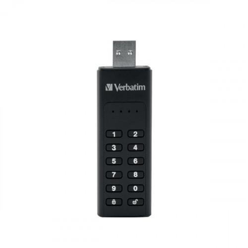 Verbatim Keypad Secure USB 3.0 Flash Drive 64GB 49428