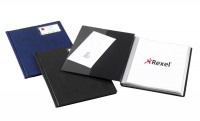 Rexel Nyrex Slimview A4 Black 12 Pocket Display Book 10005BK