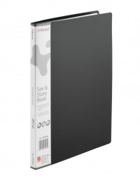 Rexel See and Store Display Book 20 Pocket A4 Black 10555BK