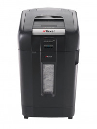 Rexel Auto+ 750X Cross Cut Shredder Black (Shred up to 750 sheets of 80gsm paper) 2103750