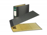 Rexel Classic Lever Arch File A3 Landscape Black /Green (Pack of 2) 26435EAST