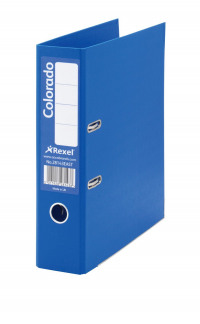 Rexel Colorado Foolscap Lever Arch File Blue (Pack of 10) 28113EAST