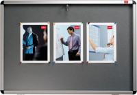 Nobo Lockable 1265x965mm Grey Visual Insert Board 31333501