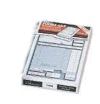 Twinlock Scribe 855 Counter Sales Receipt Business Form 2-Part 220x138mm Ref 71704 [Pack 100]