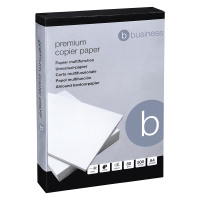 Business Premium Copier Paper Smooth Ream-Wrapped 80gsm A4 High White [5 x 500 Sheets]