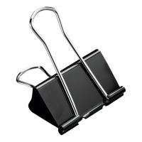 Business Foldback Clips 19mm Black [Pack 12]