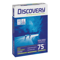 Discovery Everyday Paper Ream-Wrapped A4 75gsm White Ref DIS0750073 [5 x 500 Sheets]