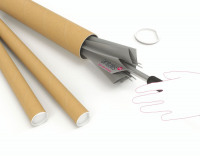 Brown Kraft 610x76mm Postal Tube (Pack of 12) PT-076-15-0610