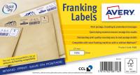 Avery Franking Label 175 x 40mm 1 Per Sheet White (Pack of 1000) FL10