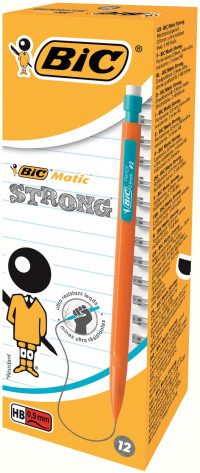 Bic Matic Original Mechanical Pencil Broad 0.9mm (Pack of 12) 892271