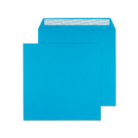 Blake Creative Colour Caribbean Blue L Seal Square Wallet 160x160mm 120gsm Pack 500 Code 610