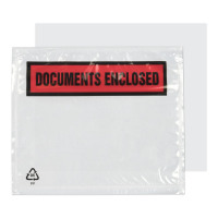 A7 123x111mm Printed Document Enclosed Wallet PK1000