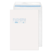 Evolve Recycled Window Envelope C4 Self Seal 100gsm White (Pack of 250) RD7892