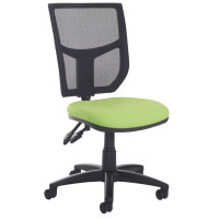 Altino high back operator chair with no arms blue