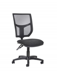 Altino 2 Lever High Mesh Back Operators Chair With No Arms - Charcoal