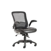 Levante mesh back task chair - black