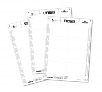 Durable Inserts for Duraprint Badgemaker Card 150gsm 60x90mm Ref 1456/02 [Pack 160]