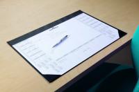 Durable Calendar Desk Mat Black 7291/01