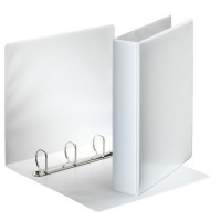Esselte A4 White 40mm 4 D-Ring Presentation Binder 49704