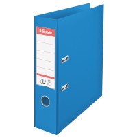 Esselte 75mm Lever Arch File Polypropylene A4 Blue (Pack of 10) 48065