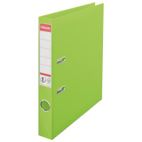 Esselte A4 Polypropylene 50mm Green Lever Arch File (Pack of 10) 48076