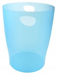 Iderama 15 Litre Waste Bin Turquoise (W263 x D263 x H335mm) 45383D