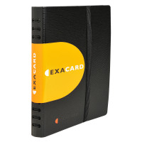 Exacompta Exactive Exacard Business Card Holder Capacity 120 Black 75034E