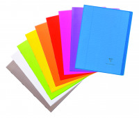Clairefontaine Koverbook Notebook A4 Assorted (Pack of 10) 971501C